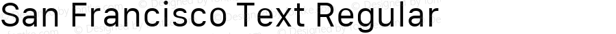 San Francisco Text Regular 10.0d64e2--BETA