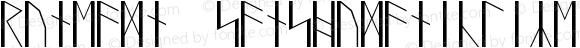 RuneAMN_SansHumanicLike Regular Version 1.20150305