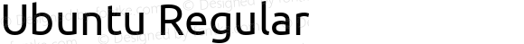 Ubuntu Regular