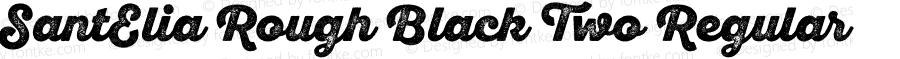SantElia Rough Black Two Regular Version 1.000
