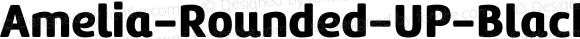 Amelia-Rounded-UP-Black ☞ Version 001.001;com.myfonts.easy.tipotype.amelia-rounded.up-black.wfkit2.version.4oht