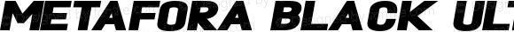 Metafora Black UltraExpanded Oblique