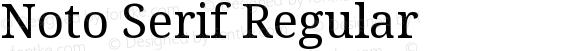 Noto Serif Regular