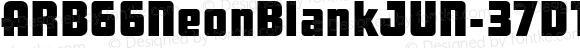 ARB66NeonBlankJUN-37DTPW01 Regular Version 1.00