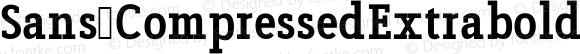 Sans CompressedExtrabold