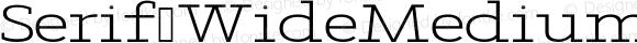 Serif WideMedium