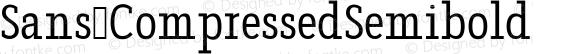 Sans CompressedSemibold
