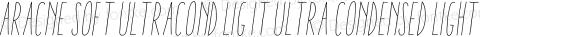 Aracne Soft UltraCond Lig It Ultra Condensed Light