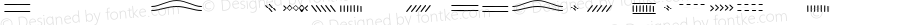 Jabana Extras Lines Regular Version 1.000;PS 1.0;hotconv 1.0.72;makeotf.lib2.5.5900