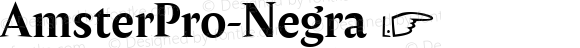 AmsterPro-Negra ☞ Version 1.000;PS 001.000;hotconv 1.0.70;makeotf.lib2.5.58329;com.myfonts.easy.pampatype.amster.pro-negra.wfkit2.version.4mQF