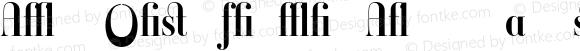 Ambroise Firmin Alternates Demi Regular Version 001.000