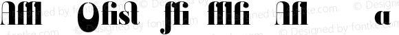 Ambroise Firmin Alternates Blac Regular Version 001.000