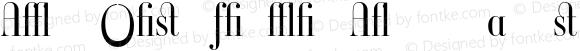 Ambroise Firmin Alternates Ligh Regular Version 001.000