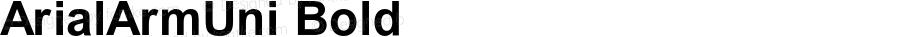 ArialArmUni Bold OTF 2.900;PS 002.090;Core 1.0.29
