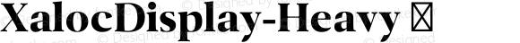 XalocDisplay-Heavy ☞