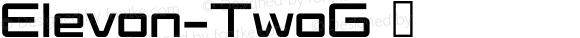Elevon-TwoG ☞