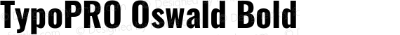 TypoPRO Oswald Bold preview image