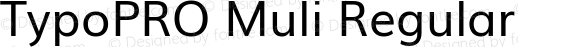 TypoPRO Muli Regular preview image