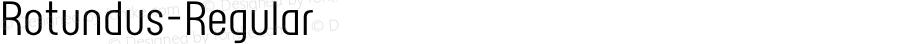 Rotundus-Regular ☞ Version 2.000;com.myfonts.easy.dayflash.rotundus.regular.wfkit2.version.3BKj