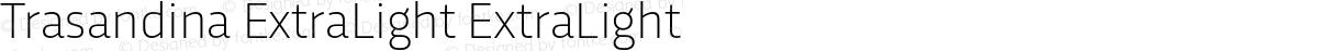Trasandina ExtraLight ExtraLight