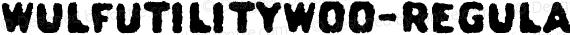 WulfUtilityW00-Regular Regular preview image