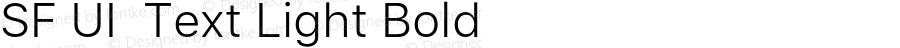 SF UI  Text Light Bold 11.0d45e1--BETA