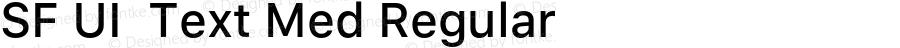 SF UI  Text Med Regular 11.0d45e1--BETA