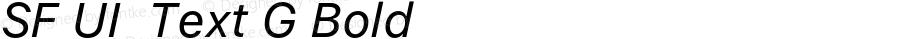 SF UI  Text G Bold 11.0d45e1--BETA