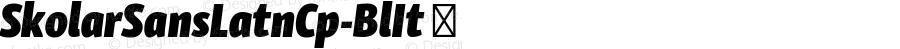 SkolarSansLatnCp-BlIt ☞ Version 1.500;PS 1.300;hotconv 1.0.81;makeotf.lib2.5.63406; ttfautohint (v1.3.34-f4db); Renamed to: Skolar Sans Latin Compressed;com.myfonts.easy.rosetta.skolar-sans.compressed-black-italic.wfkit2.version.4pfb