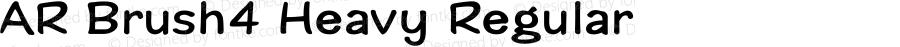 AR Brush4 Heavy Regular Version 2.10