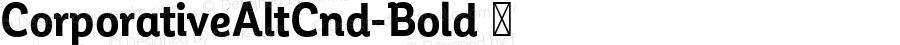 ☞Corporative Alt Cnd Bold