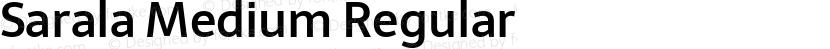 Sarala Medium Regular Preview Image
