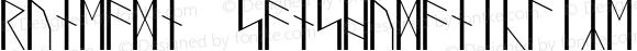 RuneAMN_SansHumanicLike Regular Version 1.20150703