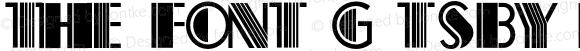 The Font Gatsby Regular 1.000