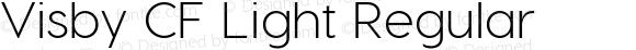 Visby CF Light Regular