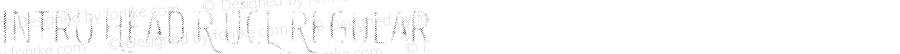 Intro Head R UCL Regular Version 1.000;PS 001.000;hotconv 1.0.70;makeotf.lib2.5.58329