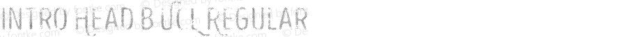 Intro Head B UCL Regular Version 1.000;PS 001.000;hotconv 1.0.70;makeotf.lib2.5.58329