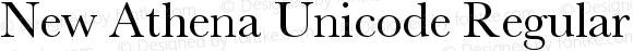 New Athena Unicode Regular