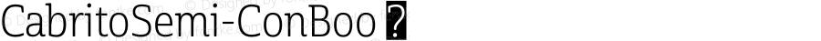 CabritoSemi-ConBoo ☞ Version 1.000;com.myfonts.easy.insigne.cabrito-semi.con-book.wfkit2.version.4qdq