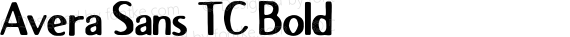 Avera Sans TC Bold preview image