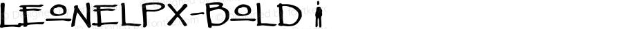 LeonelPx-Bold ☞ Version 3.001;com.myfonts.easy.pixilate.leonel-px.bold.wfkit2.version.3G3g