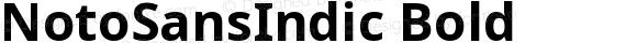 NotoSansIndic Bold