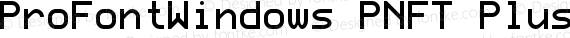 ProFontWindows PNFT Plus Octico Regular preview image