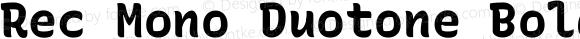 Rec Mono Duotone