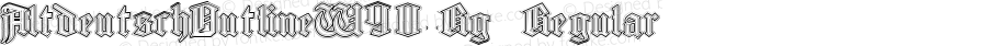 AltdeutschOutlineW90-Rg Regular Version 1.00