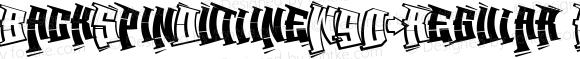 BackSpinOutlineW90-Regular Regular Version 1.0