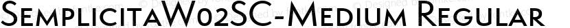 SemplicitaW02SC-Medium Regular Preview Image