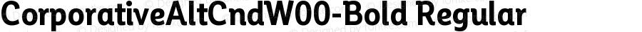 Corporative Alt Cnd W00 Bold