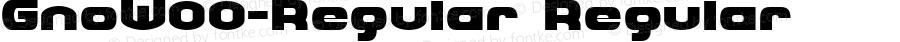 GnoW00-Regular Regular Version 1.00