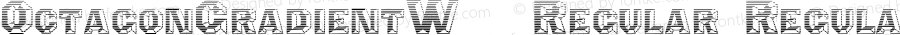 OctagonGradientW90-Regular Regular Version 1.00